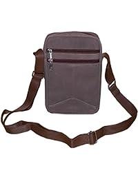 Style98 Arsenic Premium Quality Genuine Leather Travelller UniSex Sling Bag - Hunter Leather
