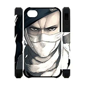 The Anime Series Naruto Printed Back Cover for Iphone 4/4S Case - Naruto Iphone Silicon Case