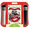 Lips Number One Hits - Game and 2 Wireless Microphones (Xbox 360)
