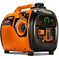 Generac iQ 6866 2000 Watt Gasoline Portable Generator - Orange