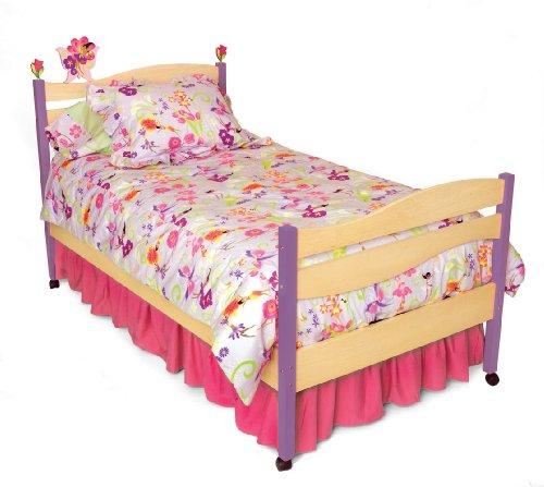 Room Magic RM02-MG Twin Comforter/Bedskirt/Sham Set, Garden
