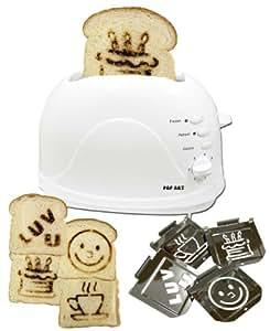 Family Fun 4-Plate Toaster, White