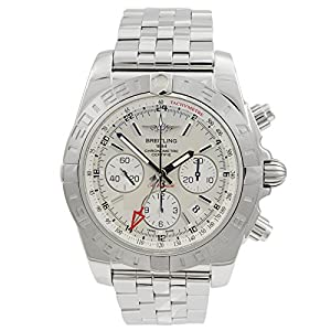 Breitling Men's AB042011-G745 Analog Display Swiss Automatic Silver Watch