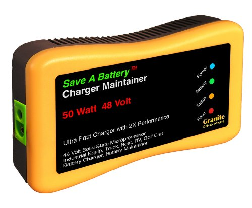 Save A Battery 2365-48 48-Volt Battery Charger and Maintainer