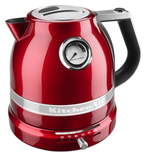 KitchenAid KEK1522CA Kettle - Candy Apple Red Pro Line Electric Kettle (Apple Kettle compare prices)