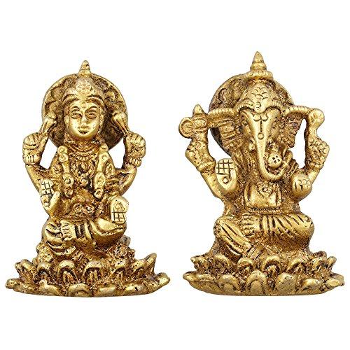 deesse-indoue-lakshmi-et-ganesh-statue-metallique-en-laiton