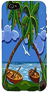 Snoogg Lost Paradise 2464 Case Cover For Apple Iphone 6