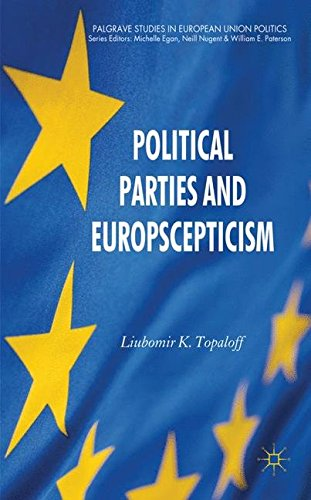 Political Parties and Euroscepticism (Palgrave Studies in European Union Politics)