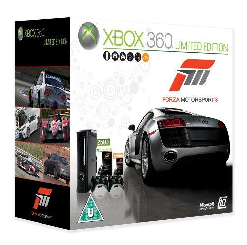 Xbox 360 Super Elite Console (250 GB Hard Drive) with Forza 3 (Xbox 360)