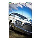 Automobile Best Deals - Graphics and More Vintage Car Retro Automobile Mag-Neato's Novelty Gift Locker Refrigerator Vinyl Puzzle Magnet Set