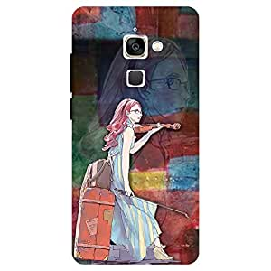 Graphic Girl - Mobile Back Case Cover For LeEco Le 2 Pro