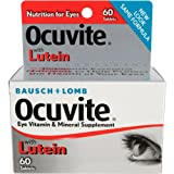 Bausch & Lomb Ocuvite Ocuvite Eye Vitamins And Mineral Supplement, 60 Ct