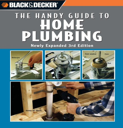 Black and Decker The Handy Guide to Home Plumbing - Spiral-Bound - Crestline - 0785827722 - ISBN:0785827722