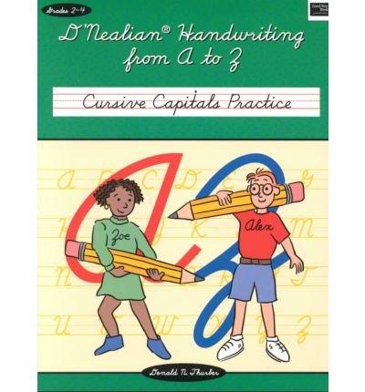 D'nealian Handwriting Cursive Connections