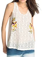 edc by Esprit Top embro tank (Crudo)