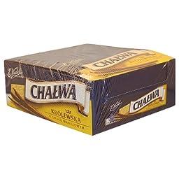 E. Wedel Halva Vanilla Flavor Sesame Halva 1kg (20 pieces x 50g)