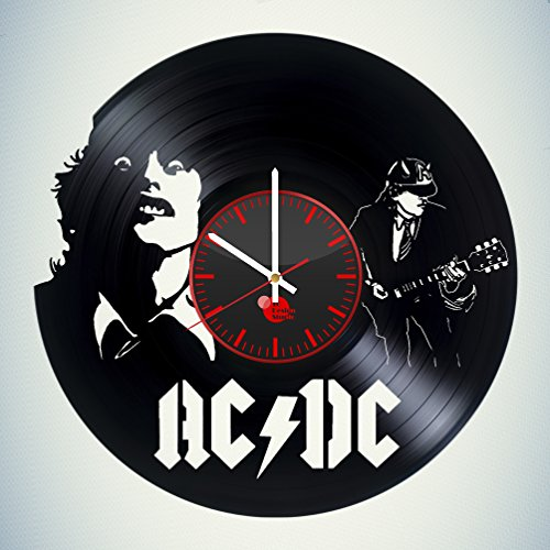 ACDC-HANDMADE-Vinyl-Record-Wall-Clock-Get-unique-bedroom-wall-decor-Gift-ideas-for-men-and-women-parents-friend-Rock-Music-Unique-Art-Leave-us-a-feedback-and-win-your-custom-clock