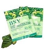 SAVE! 20x 20g. BSY NONI BLACK HAIR COLOR Organic Natural Hair Dye (Black) Covers Grey Hairs (No PPD para-phenylenediamine)