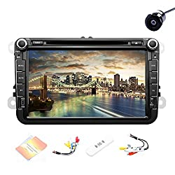 See Pupug 3G WiFi Android 4.2 8Inch HD Car DVD GPS Player Stereo Radio Video For Volkswagen VW Jetta Golf Polo Passat Tiguan Details
