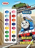 img - for Brave Little Engines (Thomas & Friends) (Deluxe Paint Box Book) book / textbook / text book