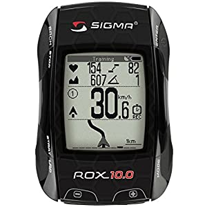 Sigma Sport ROX 10.0 GPS Wireless Cycle Computer - Black
