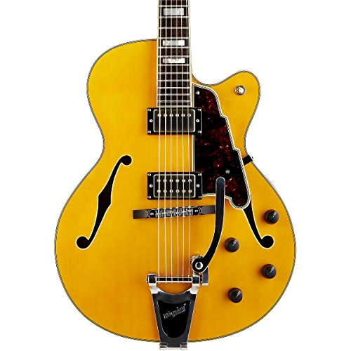D'Angelico Ex-175 Hollowbody Electric Guitar Natural