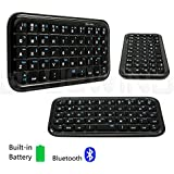 Blue Wind Palm-size Mini Rechargeable Wireless Bluetooth Keyboard for IOS (iPad & iPad mini & Iphone) Android(Lenovo IdeaTab A8-50 8-Inch,Dell Venue 8,Samsung Galaxy Tab S2 8.0 T715 / tab A 8.0 T350 Note S3 S4 S5 and Other Android Devices) Windows(Microsoft Surface /ASUS VivoTab 8/Nokia Lumia 2520/Dell Venue 8 Pro/ASUS VivoTab RT/HP Stream 8/Toshiba Encore 2 WT8/HP Stream 7/ Lenovo ThinkPad Tablet 2 And Other Windows 8 Devices) ,Black