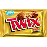 Twix Caramel Fun Size Candy, 22.34-Ounce Packages (Pack of 2)