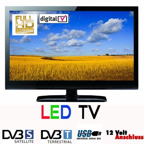 led fernseher tv 22 zoll 56 cm gelhard gtv 2228 sat dvb s. Black Bedroom Furniture Sets. Home Design Ideas