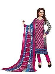 PADMiNi Ethnicwear Women's Dress Material Multi-Coloured 1016
