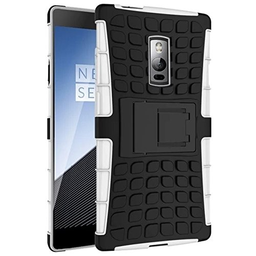 official photos df140 d3ee5 Heartly Flip Kick Stand Spider Hard Dual Rugged Armor Hybrid Bumper Back  Case Cover For OnePlus 2 Dual Sim