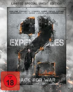 The Expendables 2 - Back for War (Limited Special Uncut Edition) (Steelbook) [Blu-ray]