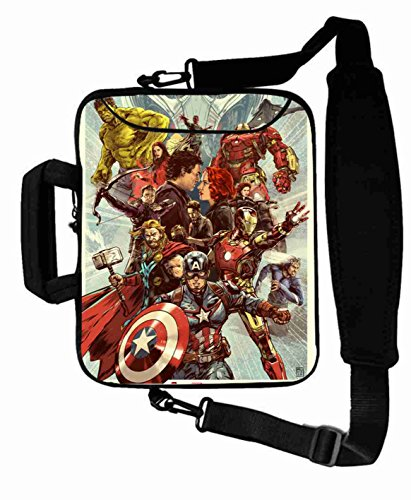 "Cool Print Custom the avengers movie Shoulder Bag For Lady (10 Inch) For 9.7""iPad Air 2-iPad 1 2 3 4 5-Samsung Galaxy Tab 3 S T700-Note 10.1-Tab PRO-Google Nexus 10 - CB-10-5654"