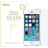 aibow タッチペンの感度低下を防ぐ 超薄型0.2mm Apple iPhone5 /5s /5c 強化ガラスフィルム 高透過率液晶保護フィルム【表面硬度9H・2.5Dラウンド処理・飛散防止処理 防指紋】【国産ガラス・国産粘着素材のW国産素材採用】 (iPhone 5&5s&5c)abw-gf-aa