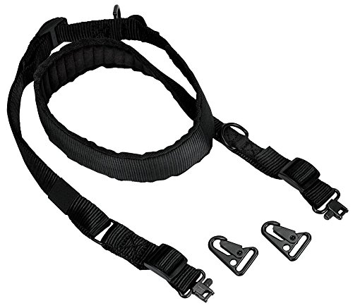 Carbon Express 20854 Three Point Universal Tactical Crossbow Sling with Dual Clips