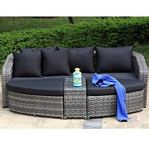 gartenbank lounge. Black Bedroom Furniture Sets. Home Design Ideas