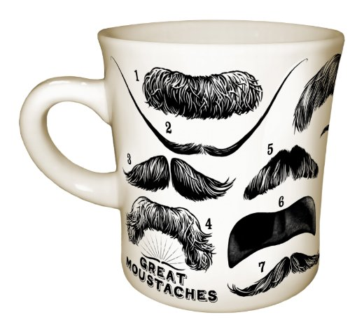 Great Moustaches Mug (Mustache Cup compare prices)