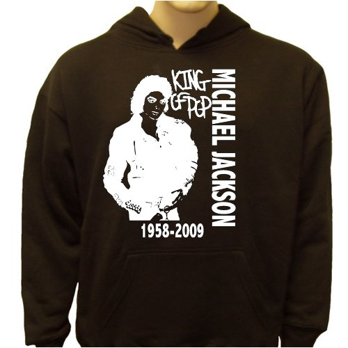 Michael Jackson King Of Pop Tribute Hoodie