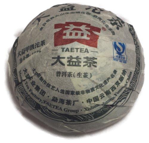 2010 Green Tuocha Pu-Erh Tea Dayi Factory- 100 Grams