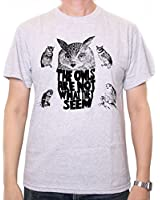 The Owls Are Not What They Seem T shirt inspired by Twin Peaks