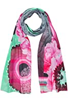 Desigual Rectangle Matemat - Foulard - Imprimé - Femme