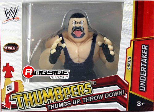 UNDERTAKER - WWE THUMBPERS SERIES 1 WICKED COOL TOYS WWE TOY WRESTLING ACTION FIGURE