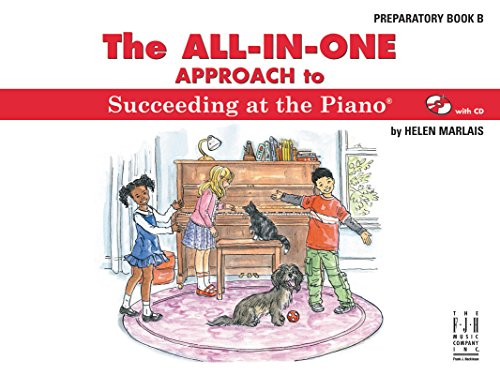 Marlais Helen Succeeding At The Piano All In One Prep Book B
