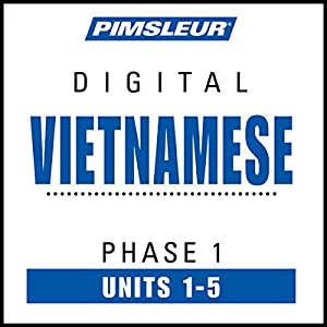 Vietnamese Phase 1, Unit 01-05 Audiobook