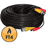 Defender  130ft In-Wall, Fire-Rated UL/FT4 Certified Extension Cable,21009