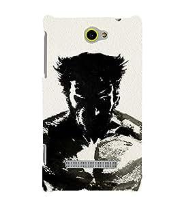 EPICCASE wolverino upclose Mobile Back Case Cover For HTC Windows Phone 8S (Designer Case)