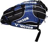 VICTOR Sporttasche Multithermobag 9034, Schwarz/Blau, 75 x 35 x 32 cm, 903/2/4