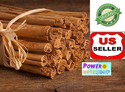 (4 Oz ) Grown Organically Pure Ceylon Alba Cinnamon Sticks Sri Lanka Finest Quality
