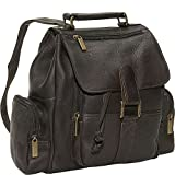 David King & Co. Mid Size Top Handle Backpack, Cafe, One Size