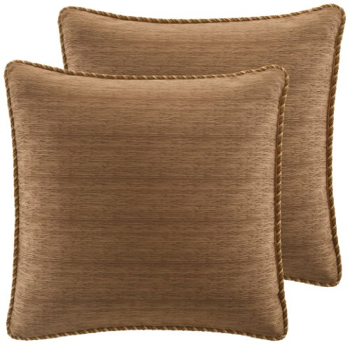 Croscill Home Fashions Bali Harvest European Sham, 26-Inch By 26-Inch front-926219